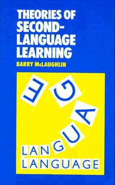 SLA:THEORIES OF SECOND LANGUAGE LEARNING (Second Language Acquisitions) by Barry McLaughlin, http://www.amazon.com/dp/0713165138/ref=cm_sw_r_pi_dp_LJiNrb18XMPJ1