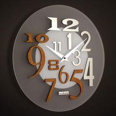 'free' modern wall clock