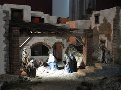 Christmas Nativity Scene, Christmas Villages, Christmas Diy, Nativity Scenes, Christmas Stuff, Christmas In Italy, Sola Scriptura, Painting, Google Search