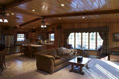 Morton Buildings home interior in Deer River, Minnesota.