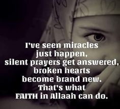 ❤ I swear this is true. When you dont let the problems of life blind you from knowing that Allah can change it in any second. You will see it.  #Alhumdulillah #For #Islam #Muslim