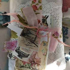 Set of Dream Catchers Beach Wedding Prop Boho Bedroom Shabby Chic Baby, Fabric Ribbon, Pink Fabric, Wedding Props, Decor Wedding, Floral Print Fabric, Floral Prints, Graphic 45, Dream Catcher Wedding