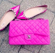 Dear Summer, Where are you? #HotPink #Flats