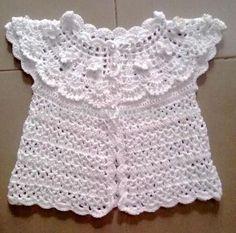 Fotos de vestidos en crochet para bebés - Imagui