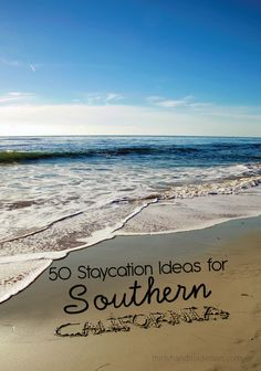 Don't take for granted all that the West Coast has to offer. Try these 50 Staycation Ideas for Southern California from Thirty Handmade Days! Why travel on spring break, when you can enjoy the amazing sites of your own hometown?