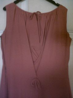 """50s """"red China"""" silk dress extremely nice on the back"""
