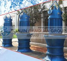 Submersible Axial Flow Pump (350QZB-1600QZB, 1000-1400QHB) - China axial pump, Ganquan Hydraulic Pump, Tianjin, Flow, Pumps, China, Choux Pastry, Court Shoes, Pump Shoes, Porcelain