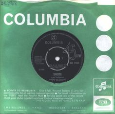 """For Sale - Cliff Richard Visions UK  7"""" vinyl single (7 inch record) - See this and 250,000 other rare & vintage vinyl records, singles, LPs & CDs at http://eil.com"""