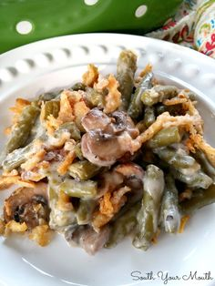 Supreme Green Bean Casserole – a quick and easy version of a classic recipe made extra special with buttery sauteed mushrooms! Source by southyourmouth Jan Greenbean Casserole Recipe, Casserole Recipes, Casserole Ideas, Rice Casserole, Chicken Casserole, Easter Dinner Recipes, Thanksgiving Recipes, Holiday Recipes, Side Dish Recipes
