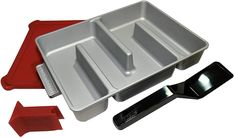 Baker's Edge - Edge Brownie Pan Complete Set - Includes Pan, Lid, Wedge, and Spatula *** More info could be found at the image url. (This is an affiliate link) Rocking Chair Pads, Indian Healing Clay, Brownie Pan, Mini Desk, Kitchen Mixer, Kitchen Dining, Cold Brew Coffee Maker, Desk Fan, Wool Dryer Balls