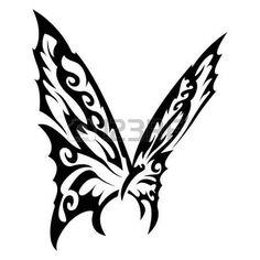 In bianco e nero farfalla