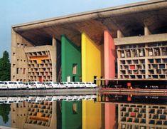 Le Corbusier, High Court, Chandigarh