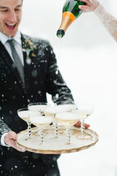 Sure, Montana winters can be tough, butthis snowy photo shoot is proofthey can also be breathtakingly beautiful. Brought to us by Rebecca Hollis Photography and Beargrass Gardens Floral & Eventsit channels the romance of the French countryside all whileembracing the cool