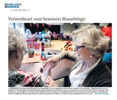 NL Doet ook bij Dignis. Uit het Dagblad van het Noorden van 21 maart 2015.