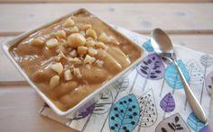 Karamell Dream Cream mit Macadamia-Splittern - VeganBlatt