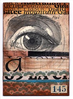 Eye Card by audreysmith.deviantart.com on @DeviantArt
