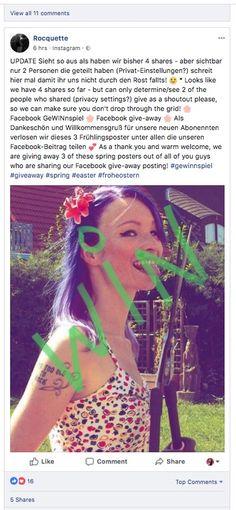 <p>🌸Facebook+GeWINnspiel+🌸+Facebook+give-away+🌸+Als+Dankeschön+und+Willkommensgruß+für+unsere+neuen+Abonennten+verlosen+wir+diese+3+Frühlingsposter+unter+allen+die+unseren+Facebook-Beitrag+teilen+💕+As+a+thank+you+and+warm+welcome,+we+are+giving+away+3+of+these+spring+posters+out+of+all+of+you+guys+who+are+…</p>