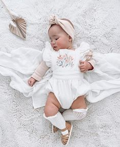 You guys are absolutely loving our light tan Eleanor with only a few sizes left in our size 4 and 5 these will be sold out prior to our… Baby Accessories, Baby Shoes, Flower Girl Dresses, Rompers, Issa, Sadie, Wedding Dresses, Clothes, Guys