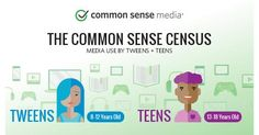 Media Use by Tweens and Teens: Infographic | Common Sense Media