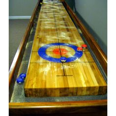 Create the Perfect Bar in Your Own Home Today - Man Cave Home Bar Backyard For Kids, Backyard Games, Outdoor Games, Small Wood Projects, Home Projects, Curling Game, Bodas Shabby Chic, Shuffleboard Table, Table Games