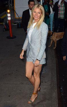 Gwyneth Paltrow in the Jefferson Blazer and Tennis Short