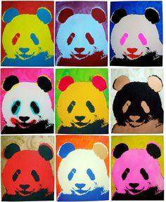 Panda Pop Painting