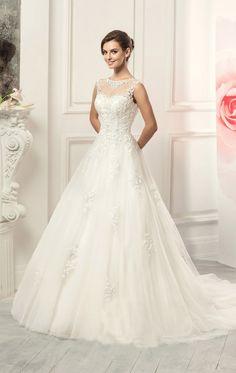 Romantic Vintage Wedding Dress 2016 Casamento Lace Bridal Gowns Vestido De Novia Sleeveless Cheap Prices In Euros