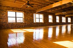 Exposed brick lofts, natural light, exposed hardwoods. Converted historic night-club in Downtown Dallas.
