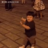 New trendy GIF/ Giphy. dancing kid asian. Let like/ repin/ follow @cutephonecases