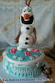 Tarta Frozen : Olaf