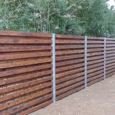 cedar shadowbox fence with 4 in steel/zinc posts - installed in Feb 2013 in 78704. The fence is gorgeous. - Yelp