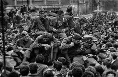 Josef Koudelka CZECHOSLOVAKIA. Prague. August 1968. Warsaw Pact tanks invade Prague.