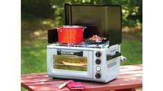 Coleman Outdoor Oven Stove: gotta have it for your treehouse or RV camping! Coleman Outdoor Oven Stove: gotta have it for your treehouse or RV camping!