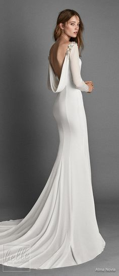 20 best vestidos de noiva alma novia images   alon livne wedding