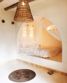 Daydreaming about being back in Bali sharing this magical room with at . Let's go back minus the 4 day Bali belly 🤦🏼♀️ Earthship Home Plans, Bed Design, House Design, Romantic Bedroom Design, Casa Milano, Magical Room, Dream Rooms, House Rooms, Home Bedroom