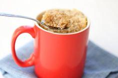 Coffee Cake Mug Cake | Kirbie's Cravings | A San Diego food blog