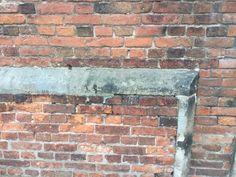 Wall at Sudbury Hall, Ashbourne Derbyshire DE6 5HT 17th March 2017