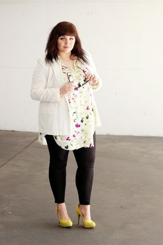 CONQUORE · The Fatshion Café Plus Size Blog: W.O.W. Collection from Zizzi x CONQUORE   Plus Size Outfit by Ela