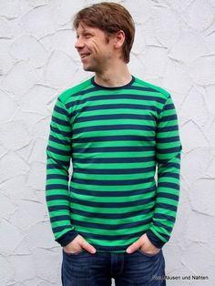 Männerschnittmuster sind auch bei farbenmix im Shop zu finden. Immer mehr Männer lassen sich gerne benähen und machen dabei eine tolle Figur.