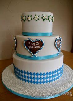 Immer wieder Sonntags: Hochzeitstorte auf bayerisch