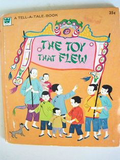 The Toy That Flew by Nora Smaridge Whitman by IcicleGarden on Etsy