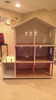 Deann's Creative Corner - Barbie House DIY - My blog post.