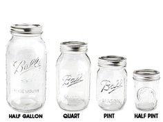Glass Canning Jars, Ball Canning Jars in Stock - ULINE Wholesale