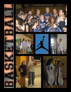 scrapbook basketball   Basketball Scrapbook