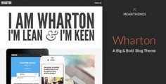 Wharton: A Big & Bold WordPress Blog Theme - Personal Blog / Magazine