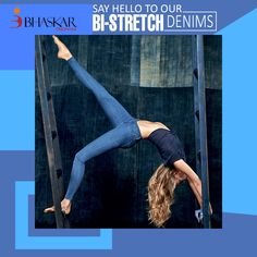 Max out. #stretch your limits with our special #Bi-Stretch #denims.