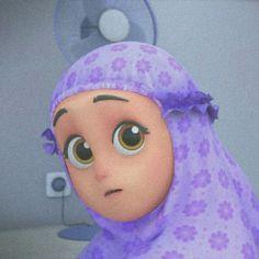 Cartoon Profile Pics, Cartoon Pics, Girl Cartoon Characters, Anime Muslim, Black Pink Kpop, Disney Aesthetic, Bear Wallpaper, Character Illustration, Islamic Art