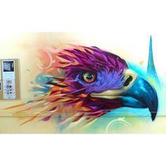 Muchas gracias a @rest1985 por invitarme a realizar esta rápida intervención en el Instituto Francés de América Latina (IFAL) #NOcolectivo #faridrueda #aguila #eagle #animal #art #staywild #streetart #graffiti