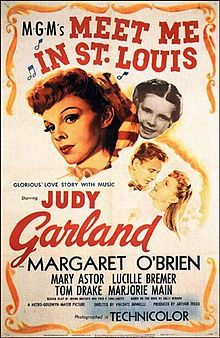 Meet Me in St. Louis ~ Starring Judy Garland and Margaret O'Brien. Today June would have been Miss Garland's birthday. There is no way I could let the day pass without pinning some of her movies. This is one of my favorite Judy Garland Movies. Old Movie Posters, Classic Movie Posters, Classic Movies, Judy Garland, Ronald Colman, Love Movie, I Movie, Perfect Movie, Movie List