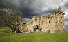 St Andrews Castle, the most notorious fort prisons in medieval Britain The 30 best castles in Scotland- Edinburg Castle, Inveraray Castle, Urquhart Castle, Scotland Castles, Scottish Castles, Fife Scotland, Andrew Castle, Castle Fraser, Stirling Castle